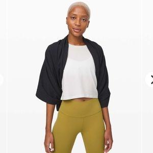 NWT Lululemon Vinyasa scarf Jacquard teal